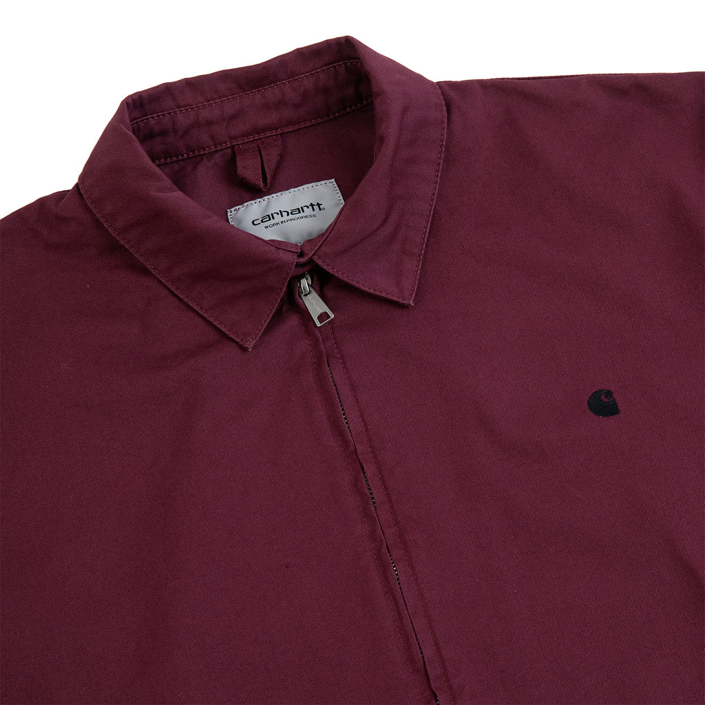 Carhartt WIP Madison Jacket in Shiraz / Black - Detail