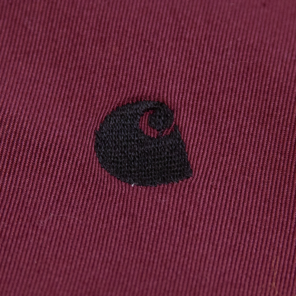 Carhartt WIP Madison Jacket in Shiraz / Black - Embroidery