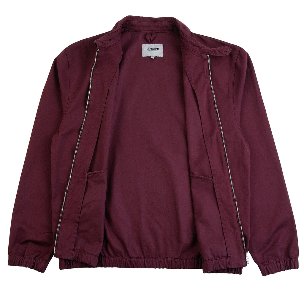 Carhartt WIP Madison Jacket in Shiraz / Black - Open