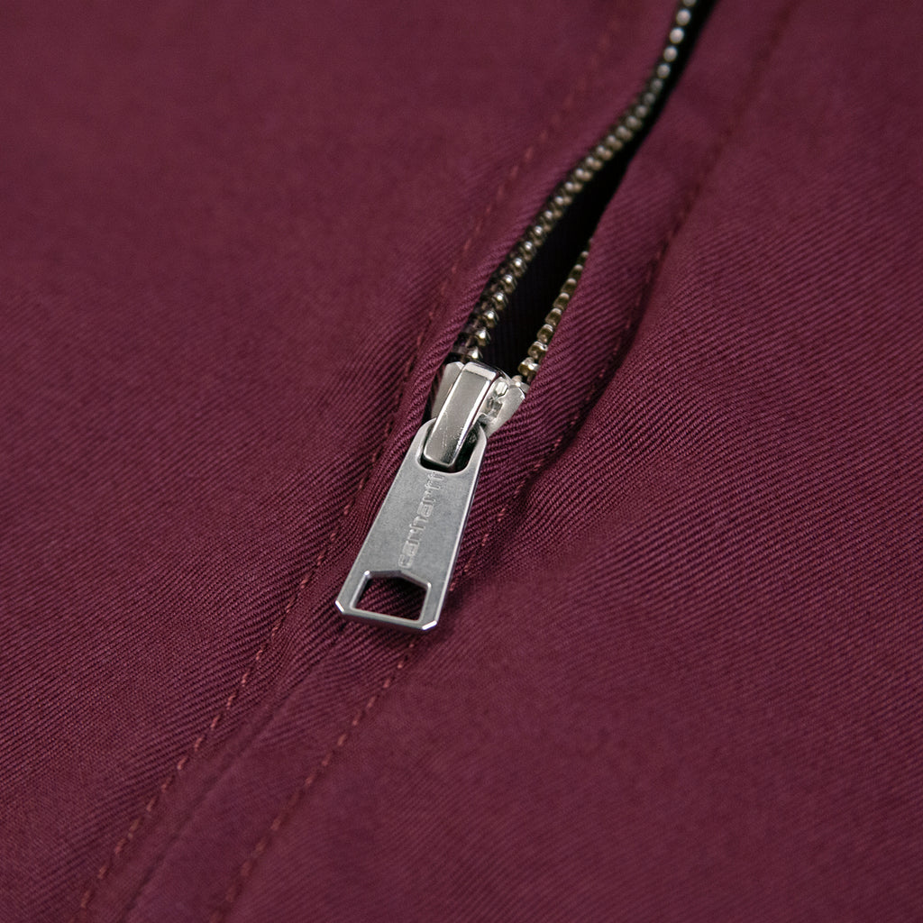 Carhartt WIP Madison Jacket in Shiraz / Black - Zip