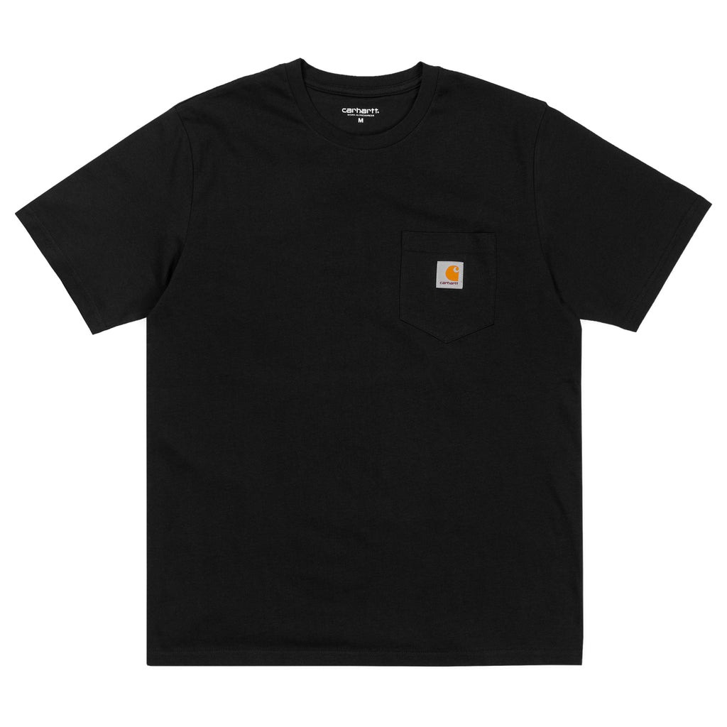 Carhartt WIP Pocket T Shirt in Black