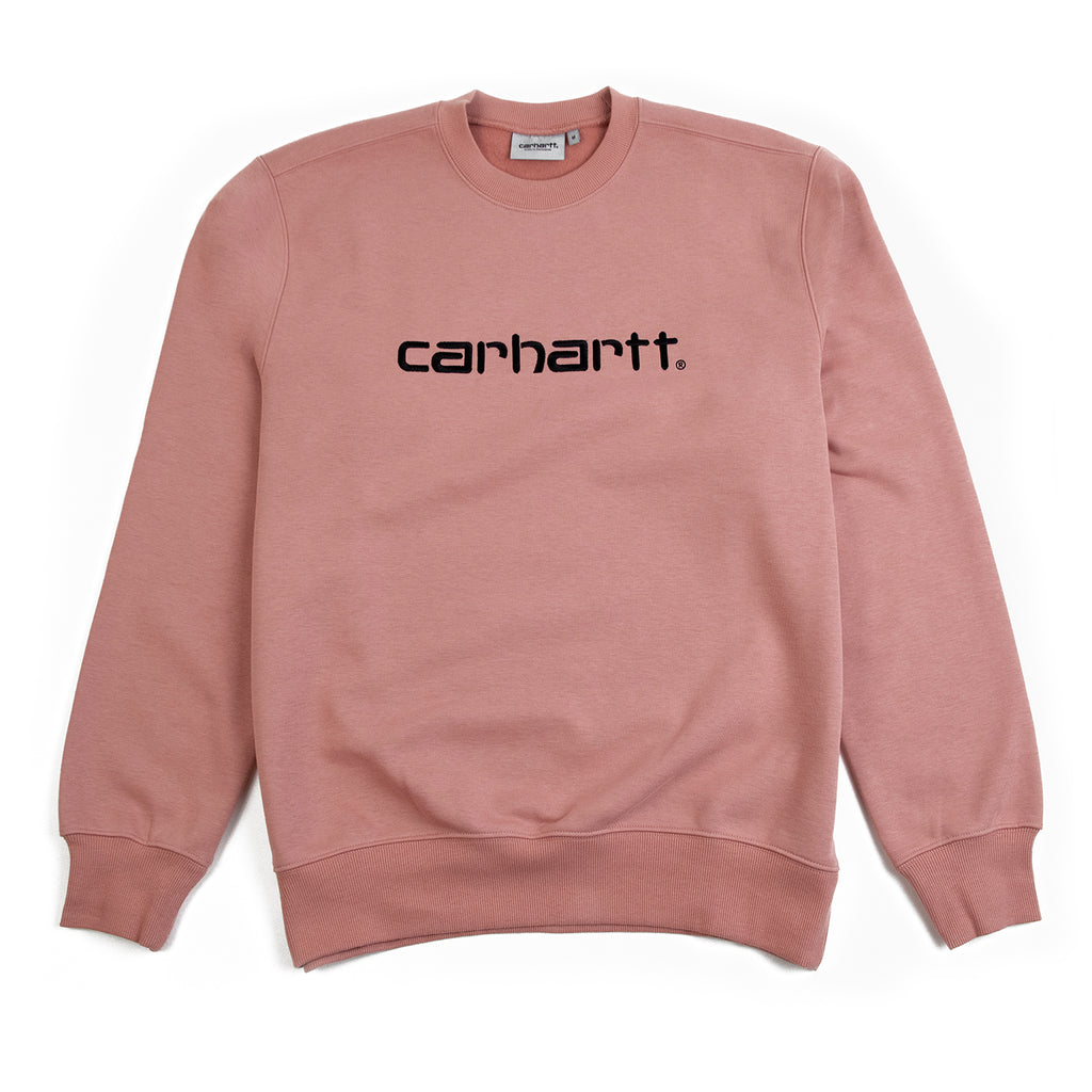 Carhartt WIP Carhartt Sweatshirt in Blush / Black