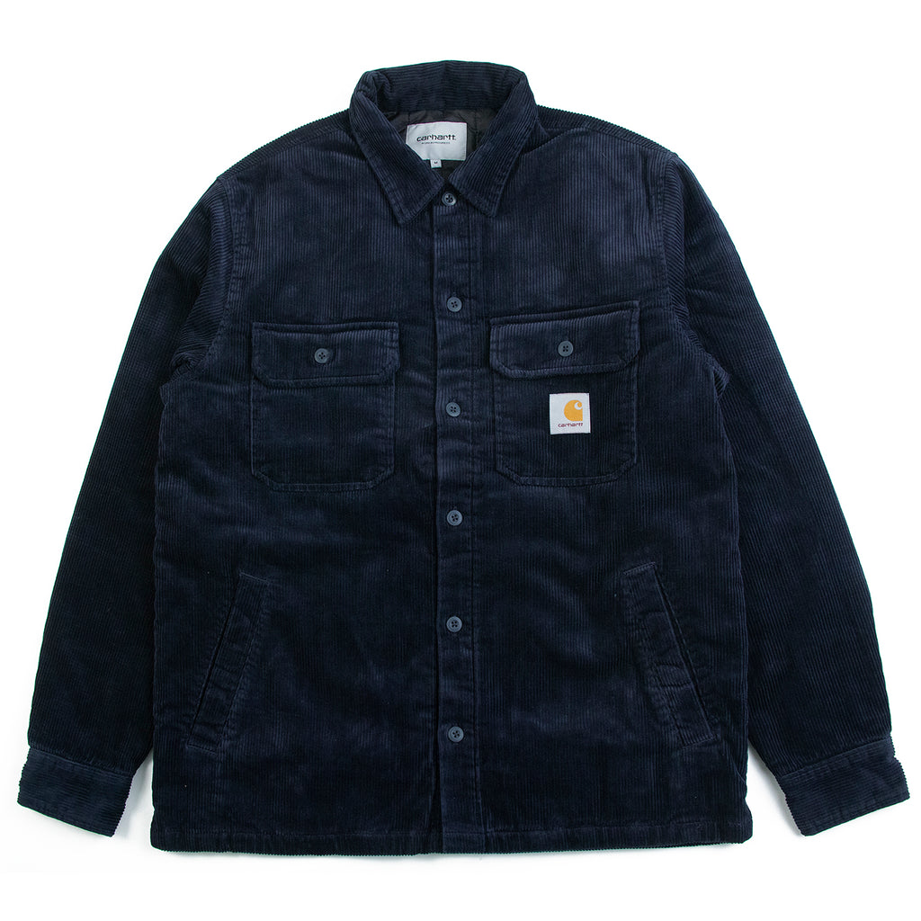 Carhartt WIP Whitsome Shirt Jacket in Dark Navy