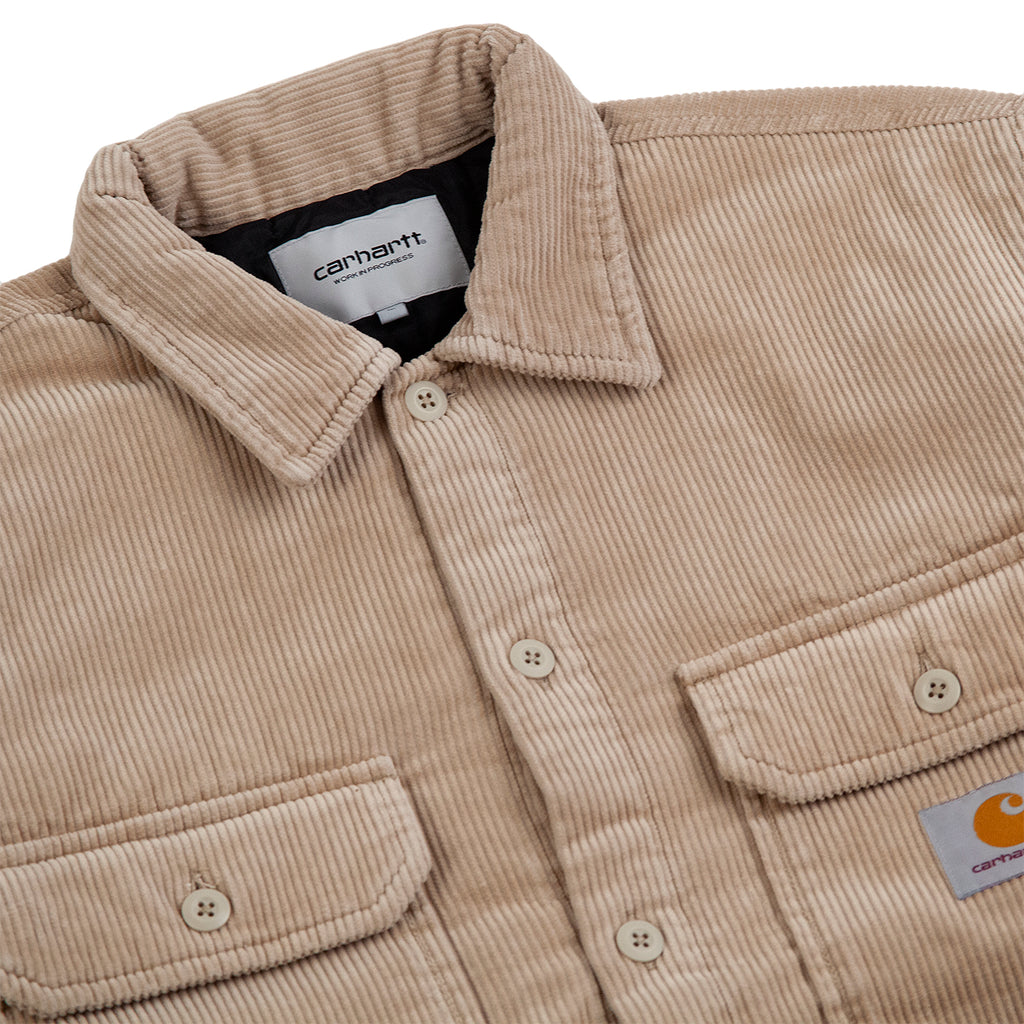 Carhartt WIP Whitsome Shirt Jacket in Wall - Detail