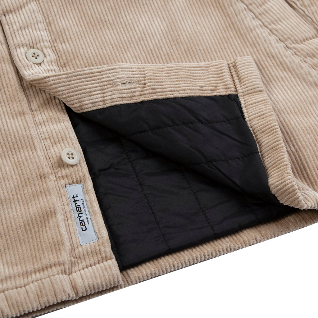 Carhartt WIP Whitsome Shirt Jacket in Wall - Underside