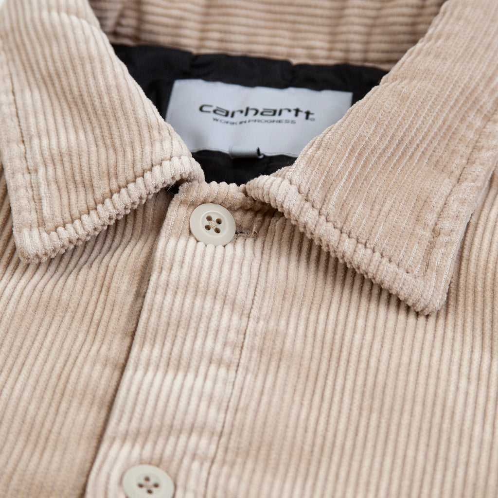 Carhartt WIP Whitsome Shirt Jacket in Wall - Collar