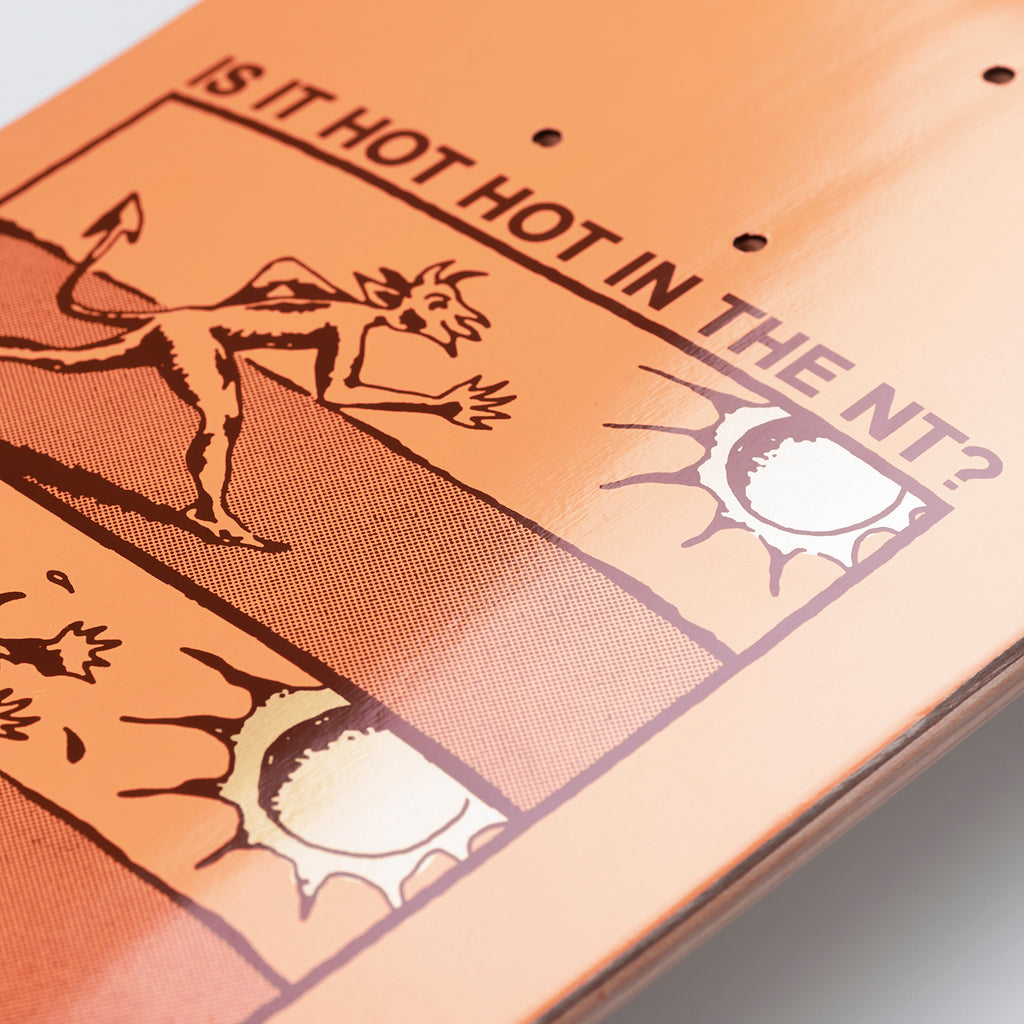 "Carhartt WIP x Pass Port Hot Hot Skateboard Deck in 8"" - Detail"