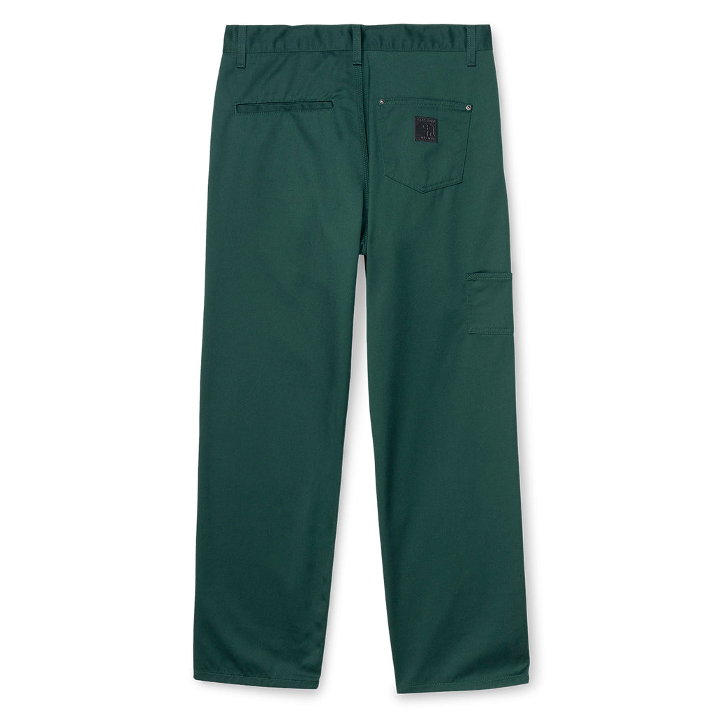 Carhartt WIP x Pass Port Pall Pant in Bottle Green  - Back