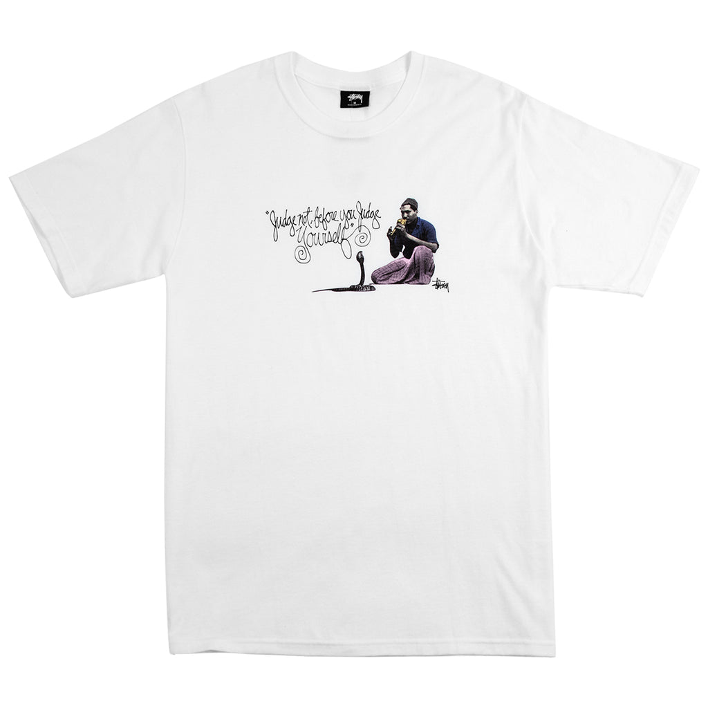 Stussy Charmer T Shirt in White