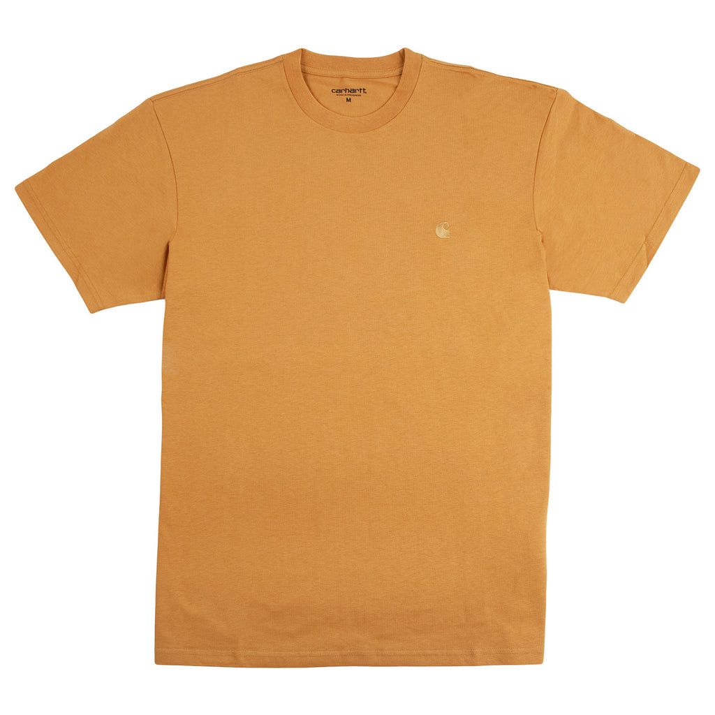 Carhartt WIP Chase T Shirt in Winter Sun / Gold