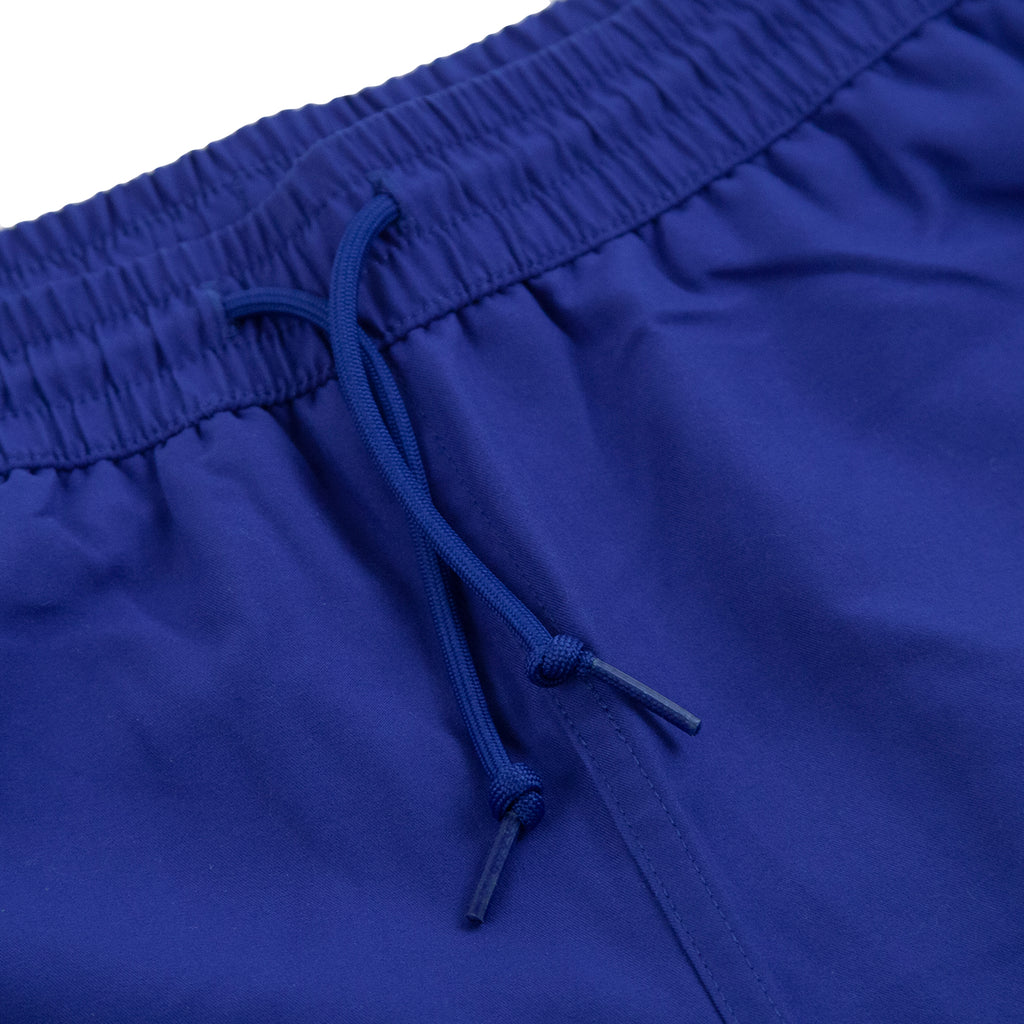 Carhartt WIP Chase Swim Shorts in Submarine / Gold - Detail