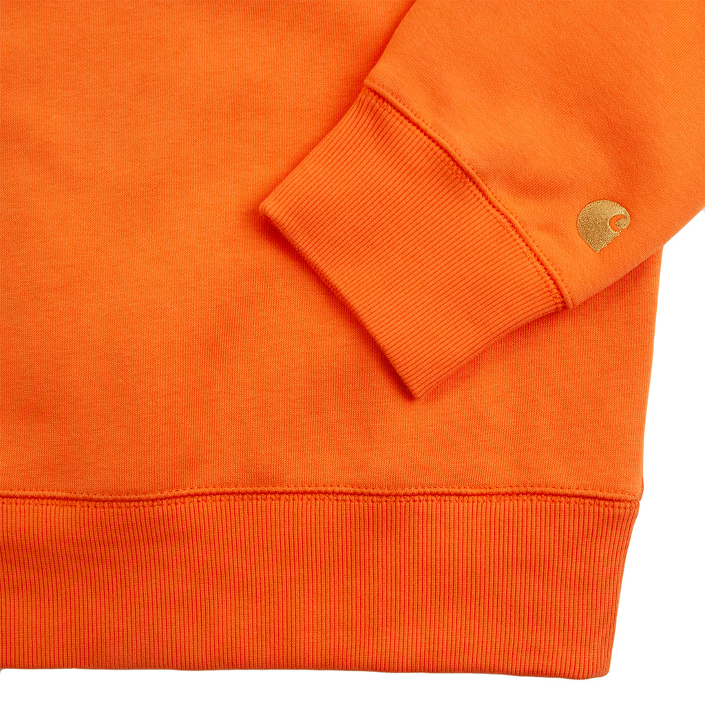 Carhartt WIP Chase Sweatshirt in Clockwork / Gold - Cuff