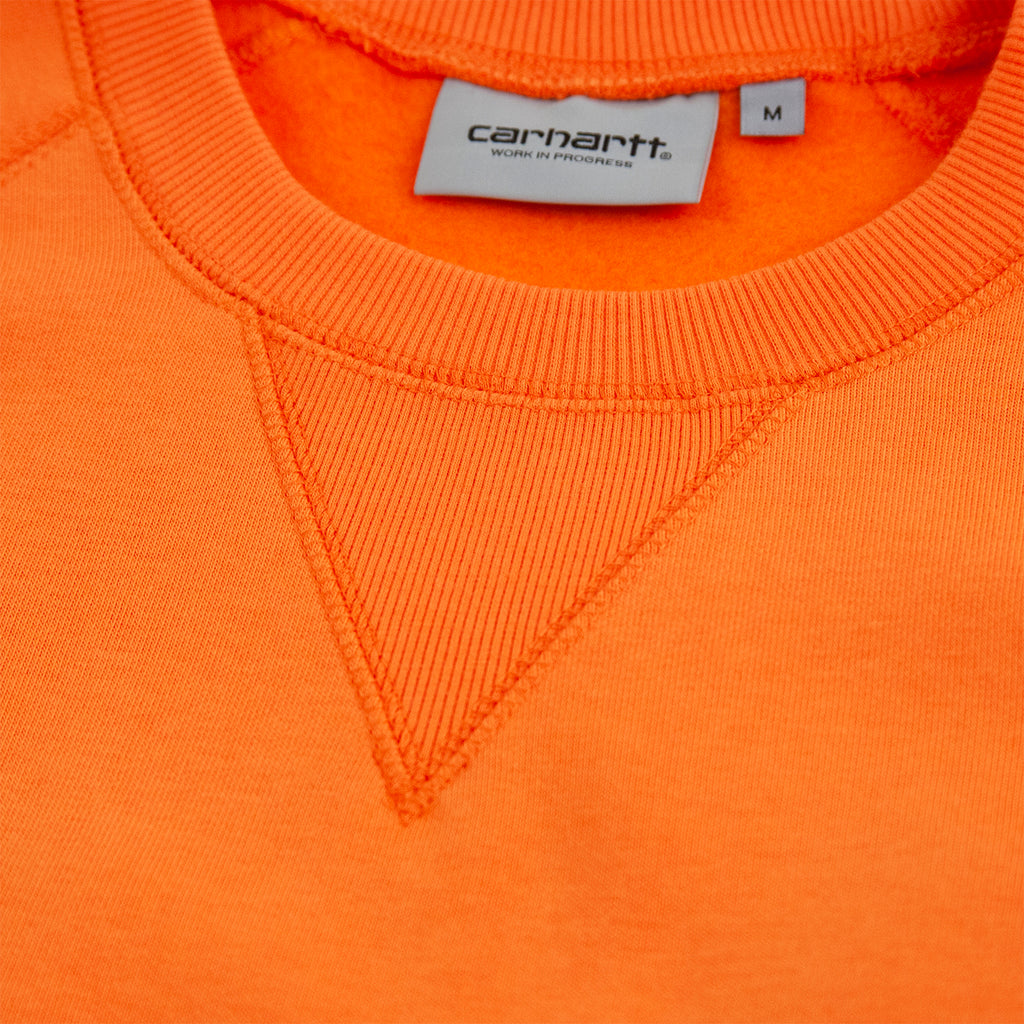 Carhartt WIP Chase Sweatshirt in Clockwork / Gold - V