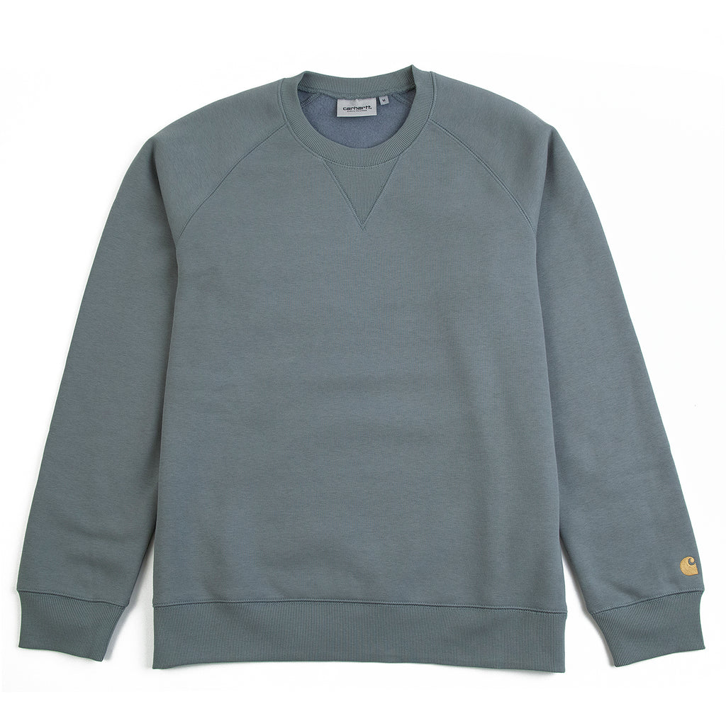 Carhartt WIP Chase Sweatshirt in Cloudy / Gold