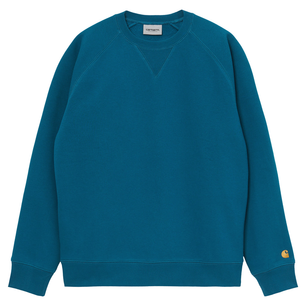 Carhartt WIP Chase Sweatshirt in Corse / Gold