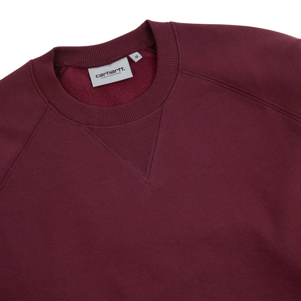 Carhartt WIP Chase Sweatshirt in Shiraz / Gold - Detail