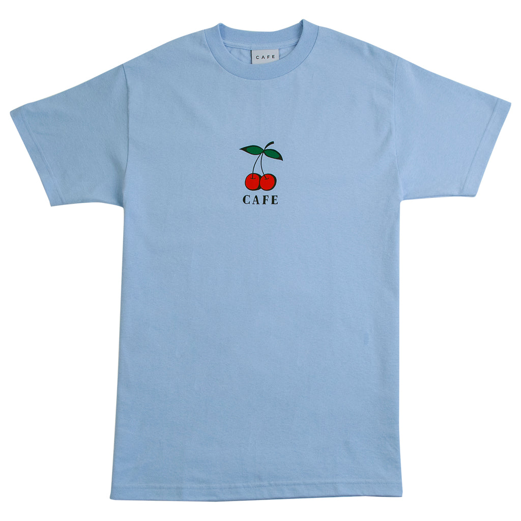 Skateboard Cafe Cherry T Shirt in Blue
