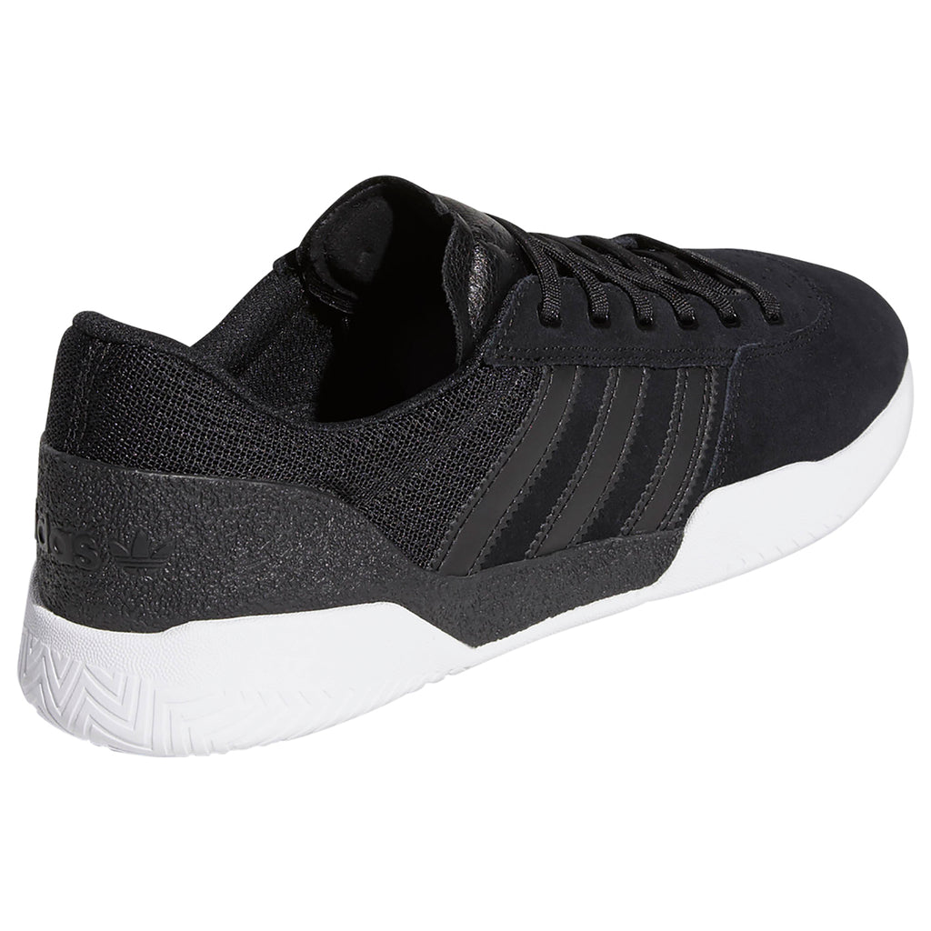 Adidas City Cup Shoes in Core Black / Core Black / Footwear White - Side 2