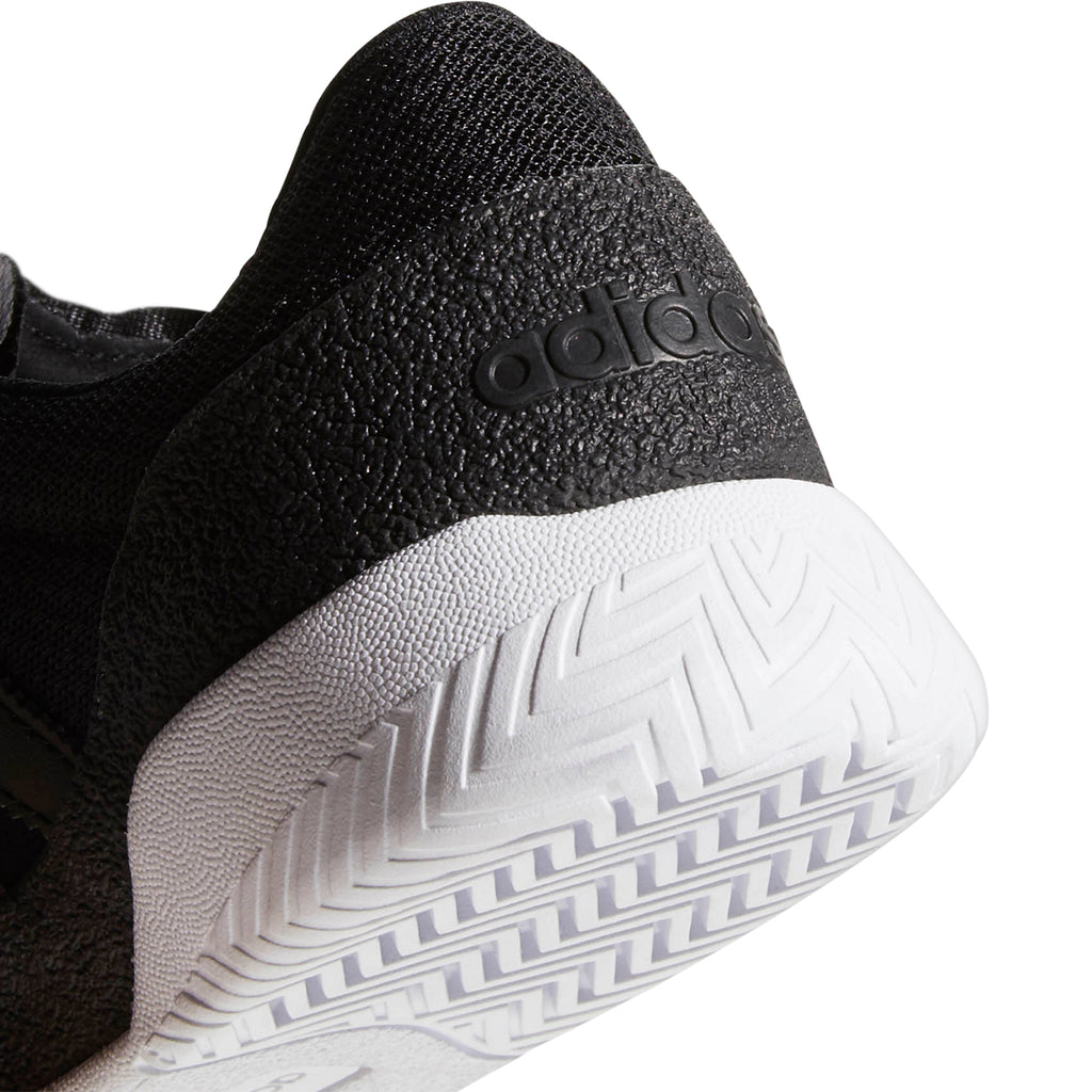 Adidas City Cup Shoes in Core Black / Core Black / Footwear White - Heel