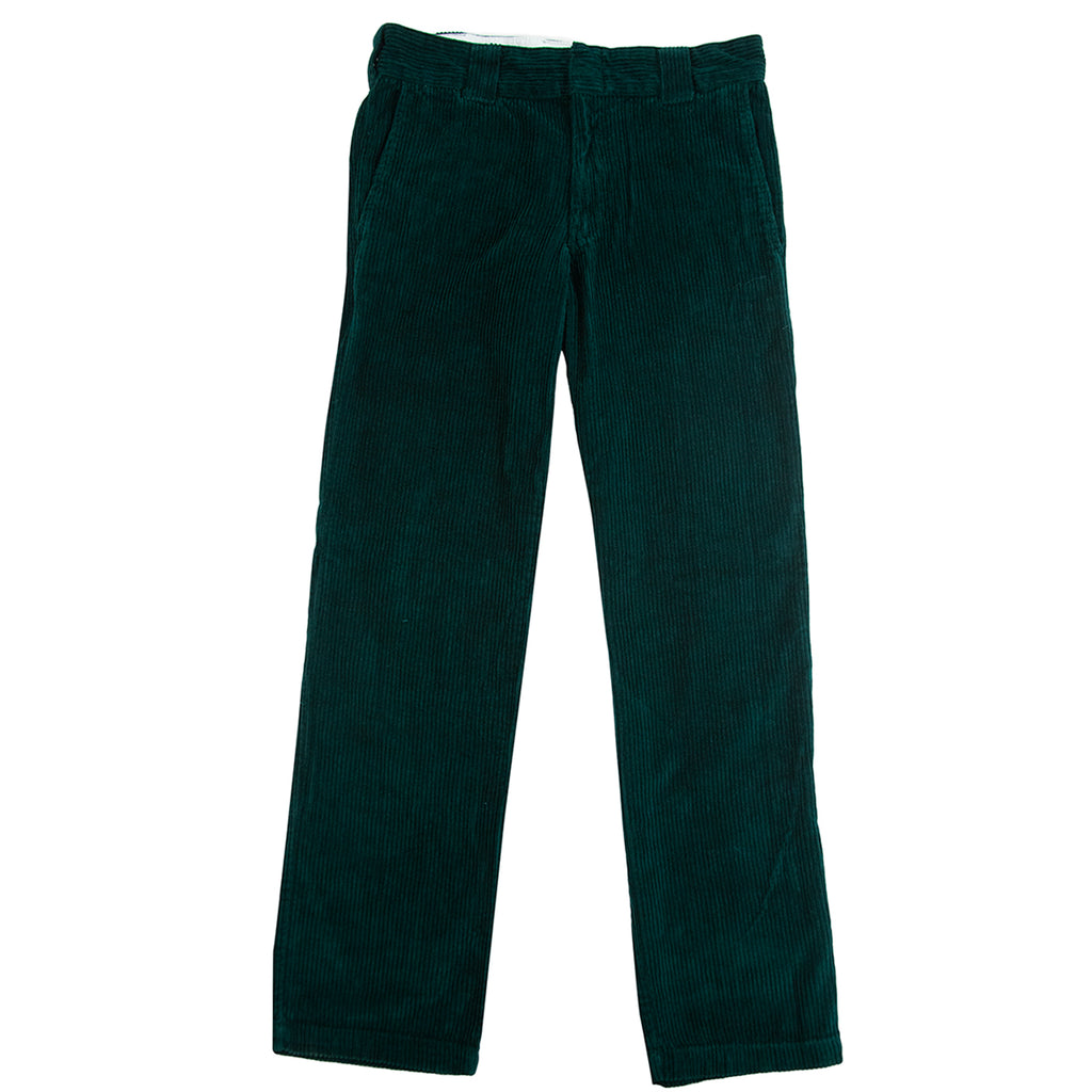 Dickies Cloverport Cord Work Pant in Forest - Open