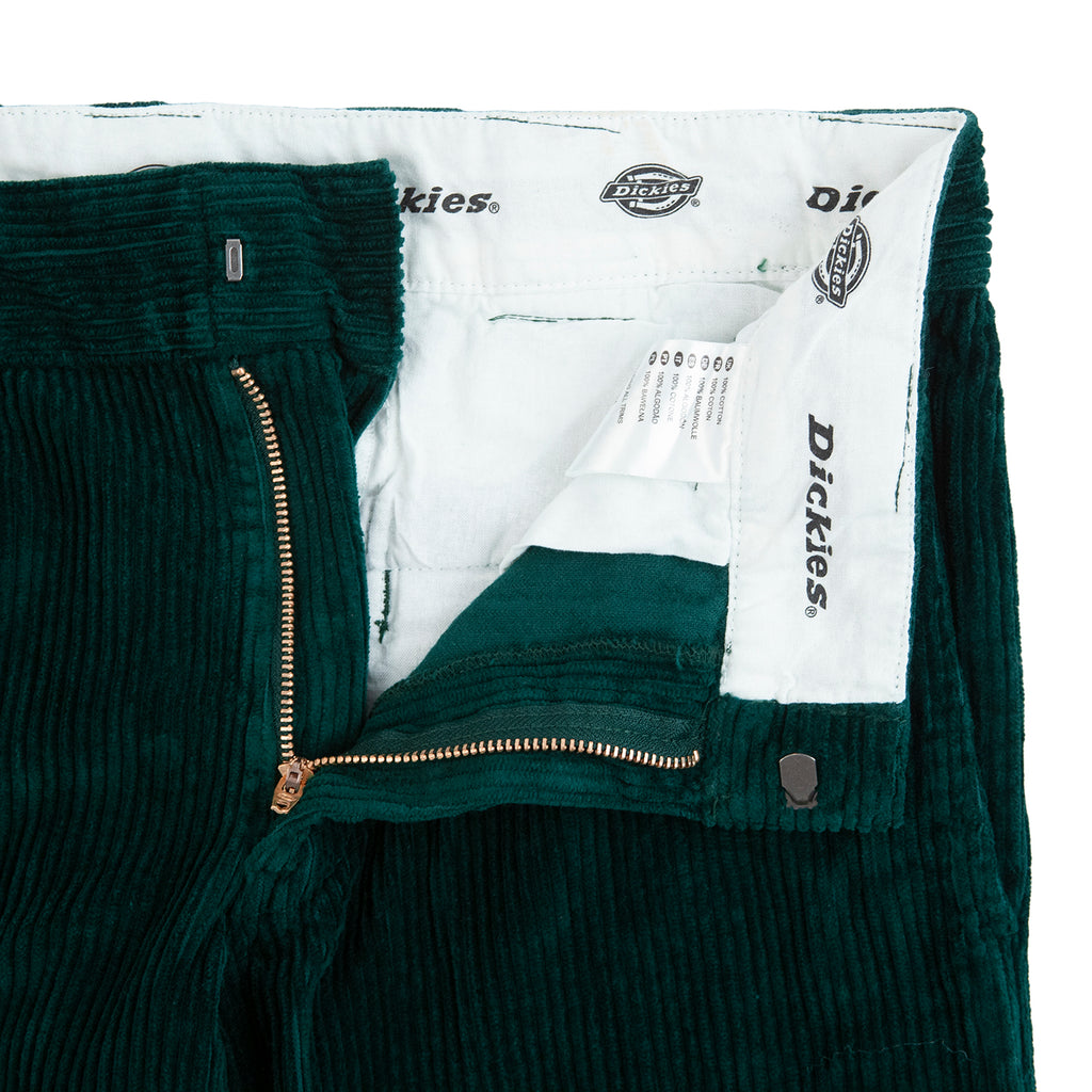 Dickies Cloverport Cord Work Pant in Forest - Unzipped
