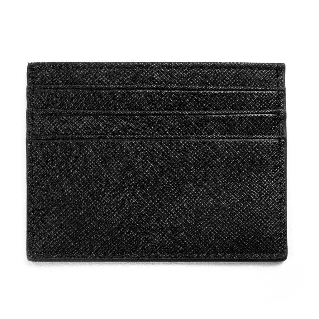Carhartt WIP Coated Card Holder in Black / White - Detail 2