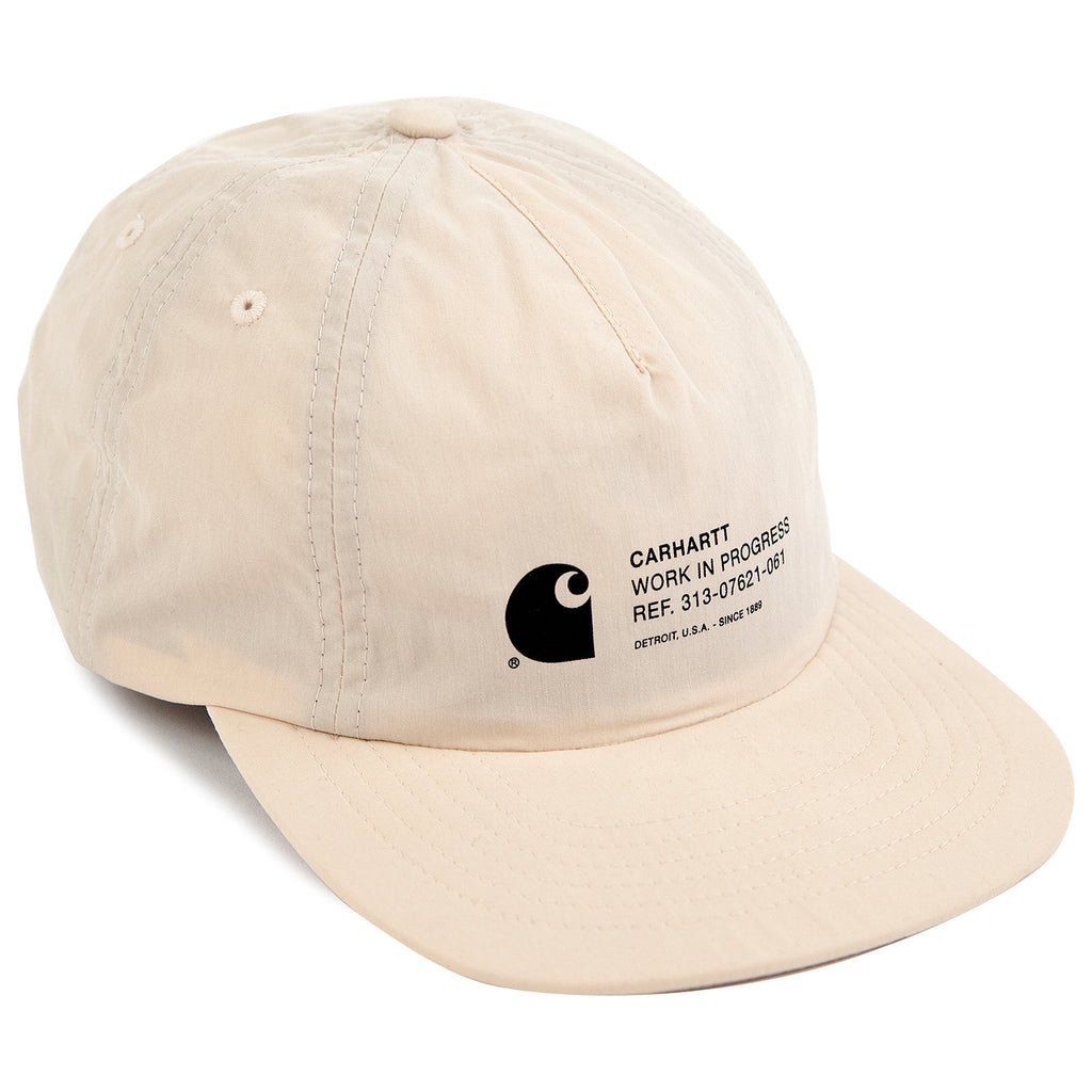 Carhartt Coleman Cap in Wall / White