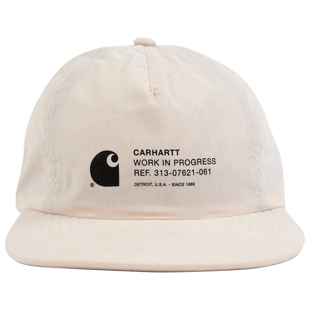 Carhartt Coleman Cap in Wall / White - Front