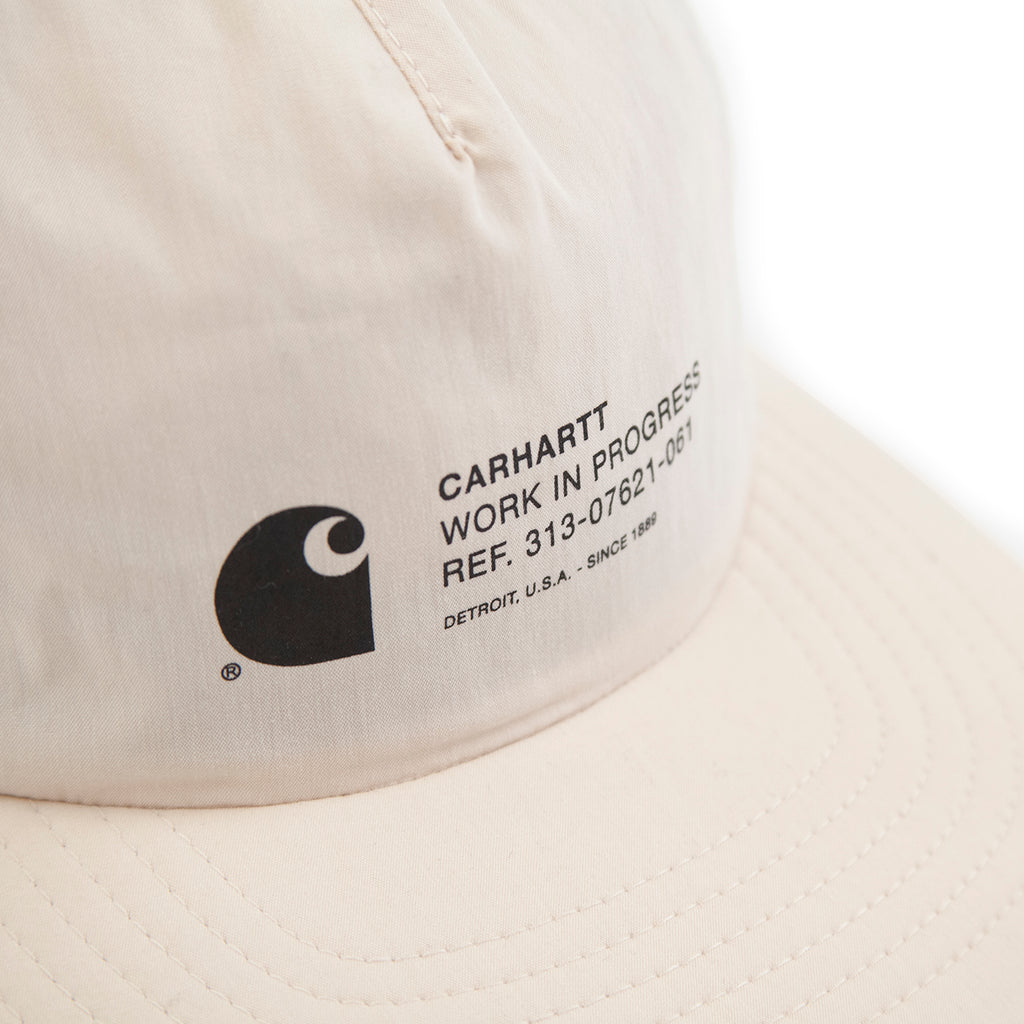 Carhartt Coleman Cap in Wall / White - Detail