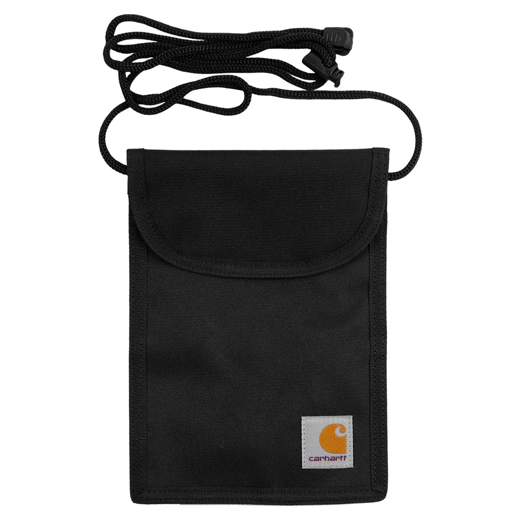 Carhartt WIP Collins Neck Pouch in Black