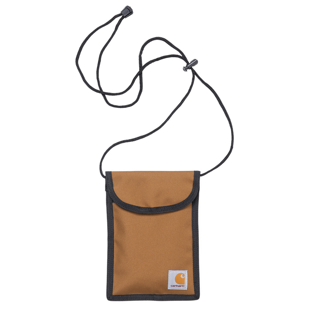 Carhartt WIP Collins Neck Pouch in Hamilton Brown