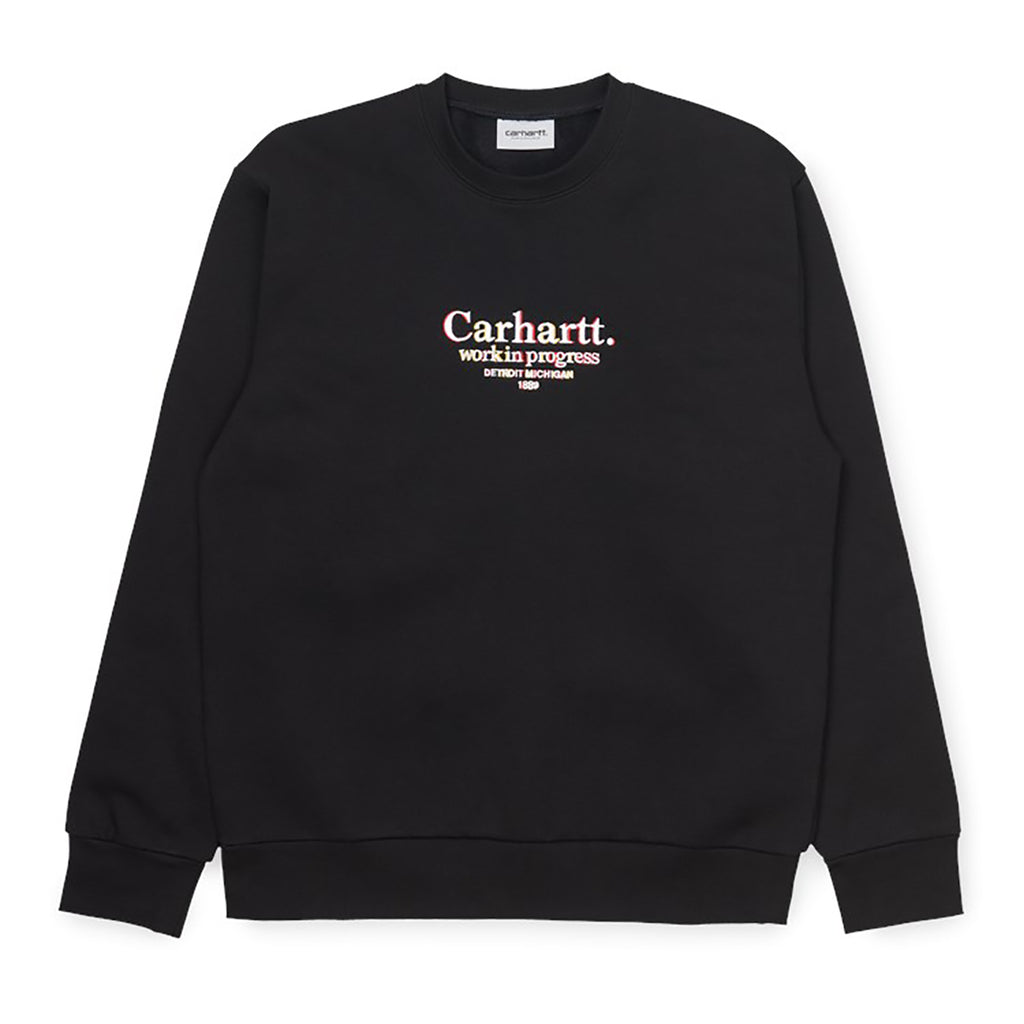 Carhartt WIP Commission Sweat in Black