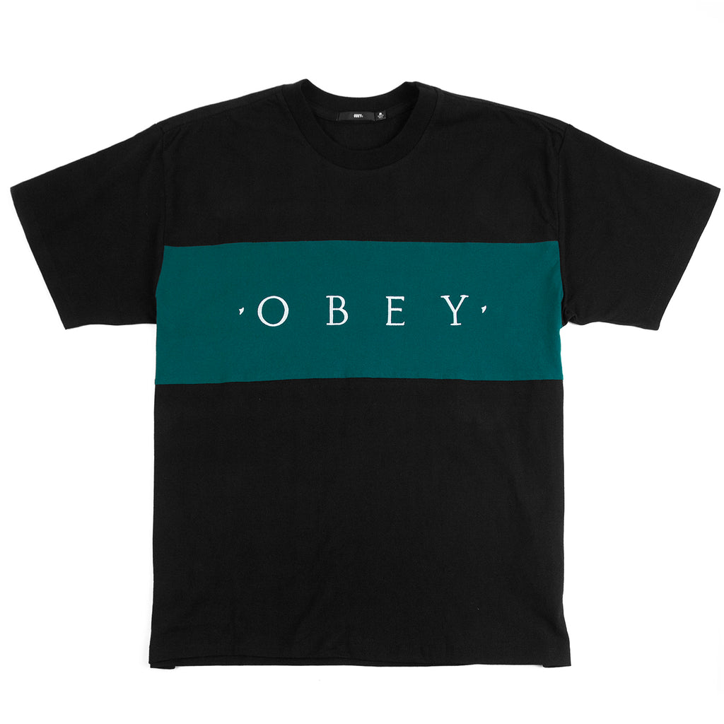 Obey Clothing Conrad Classic T Shirt in Black Multi