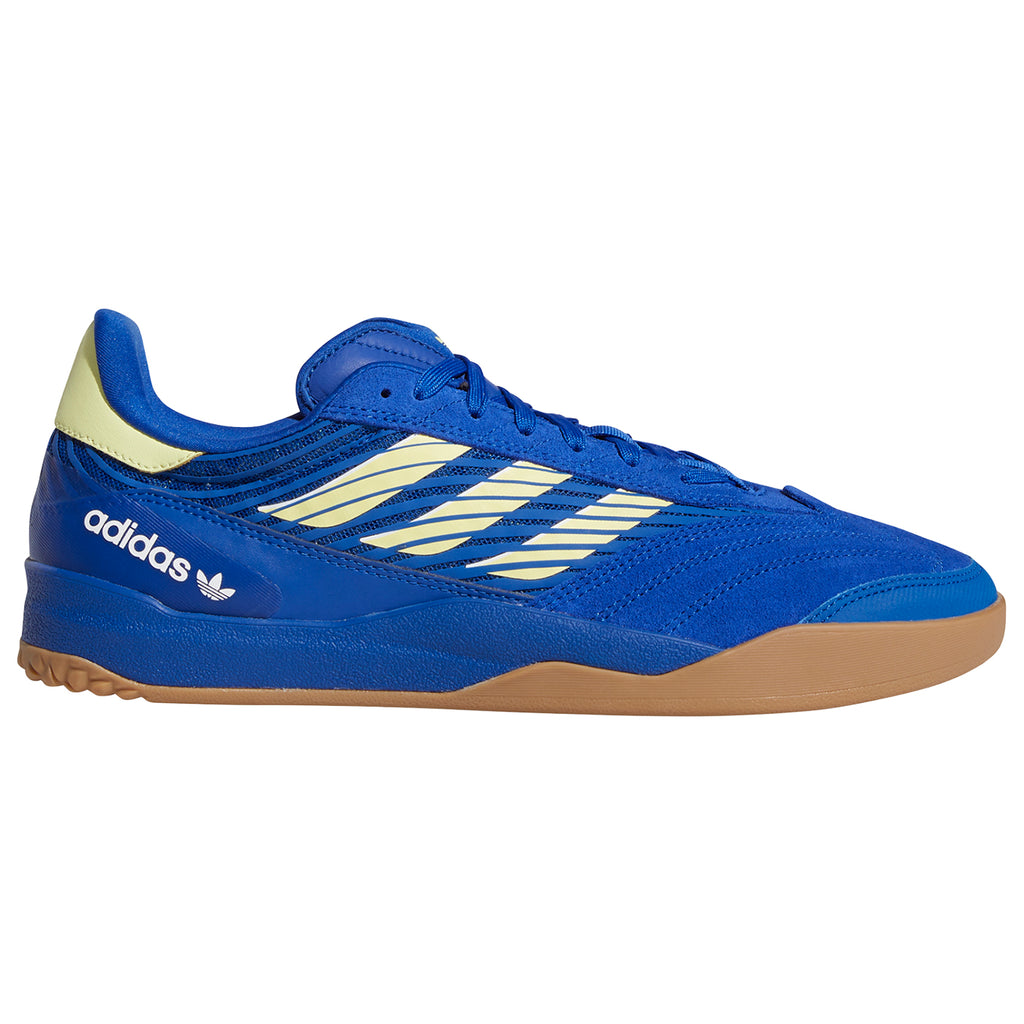 Adidas Skateboarding Copa Nationale Shoes in Royal Blue / Yellow Tint / Footwear White