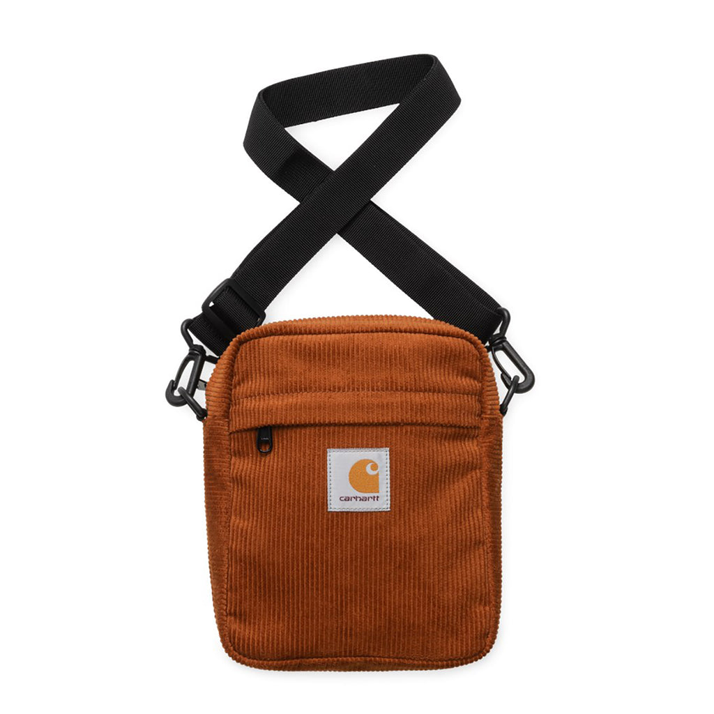 Carhartt WIP Small Cord Bag in Brandy