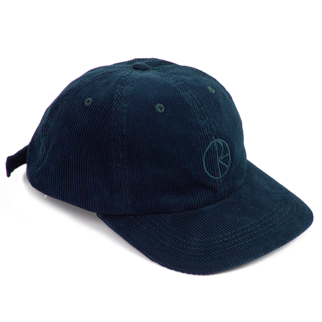 Polar Skate Co Cord Cap in Petrol Blue