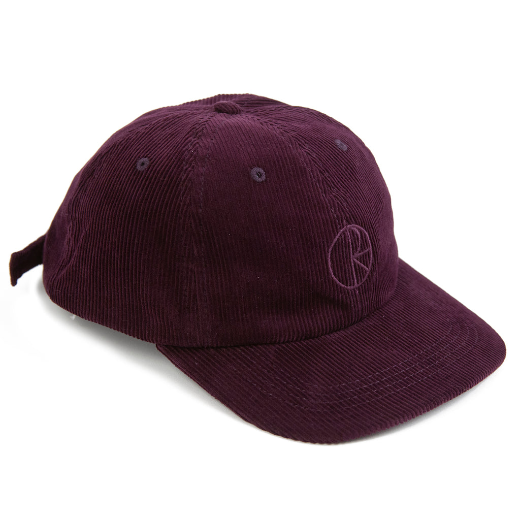 Polar Skate Co Cord Cap in Prune