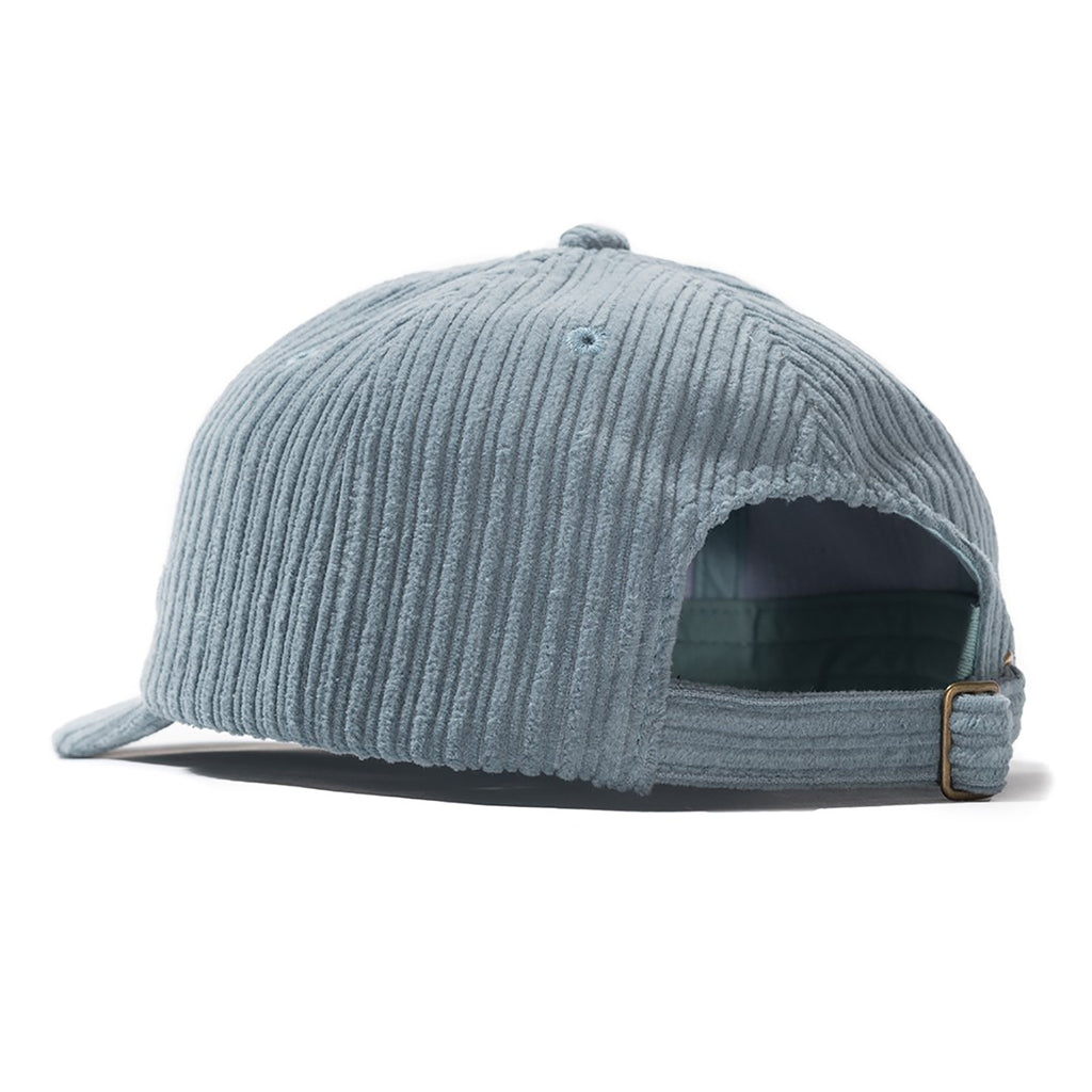 Stussy Cord Low Pro Cap in Light Blue - Back