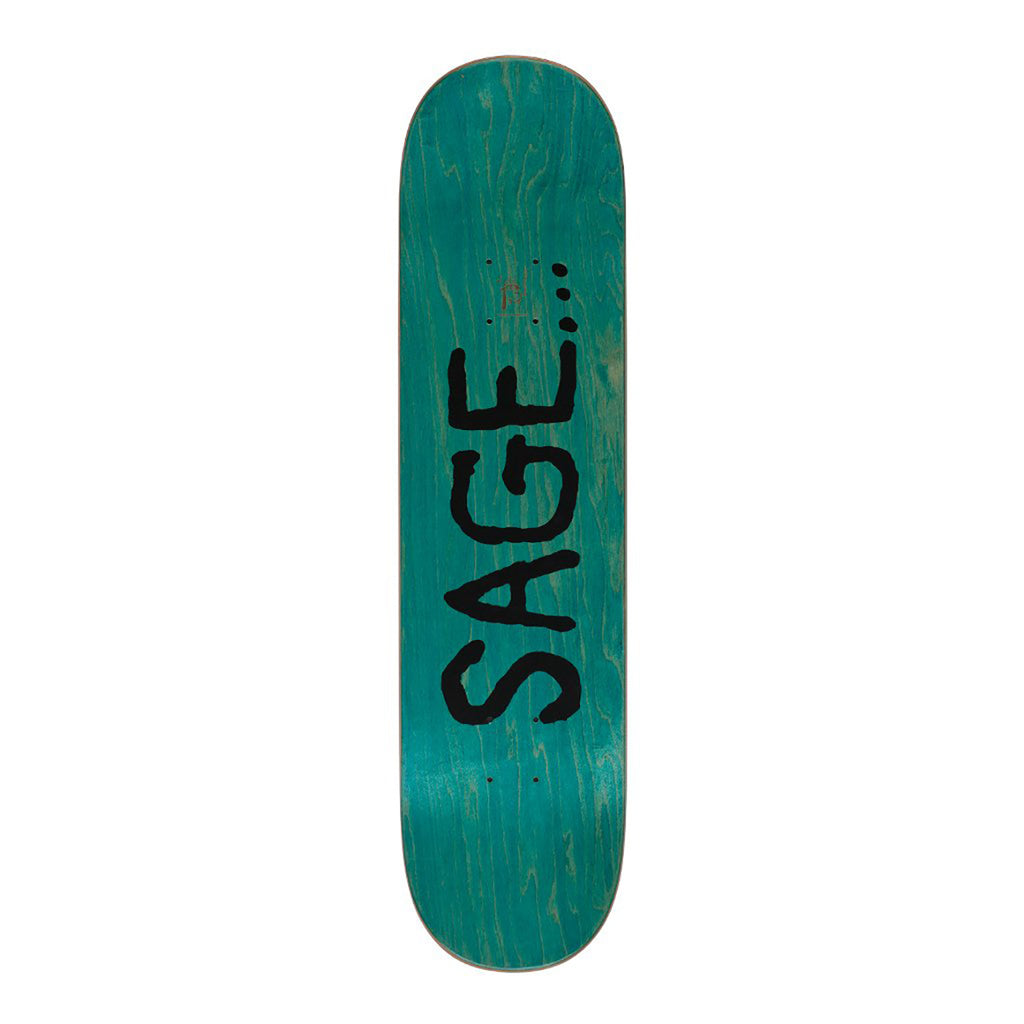 "Fucking Awesome Cosmic Sage Skateboard Deck in 8.5"" - Top"