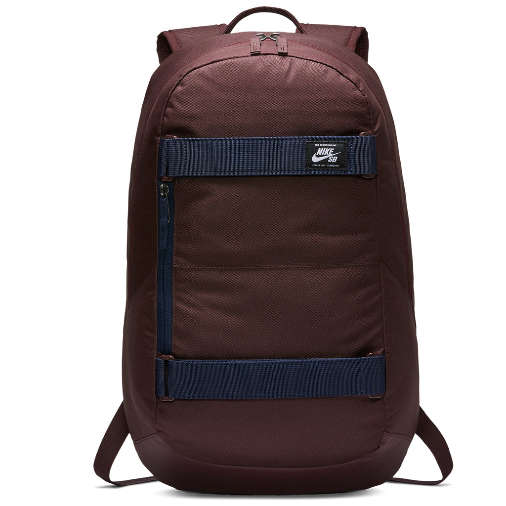 Nike SB Courthouse Backpack in Mahogany / Obsidian / White - Front