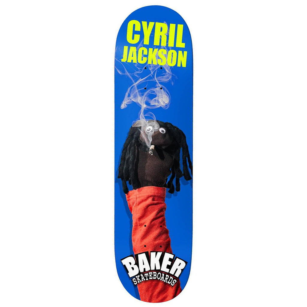Baker Skateboards Cyril Jackson Sock Puppet Skateboard Deck in 8.25""
