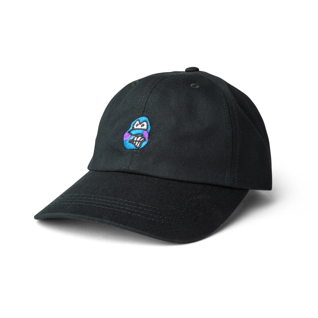 Polar Skate Co Dane Face Cap in Black