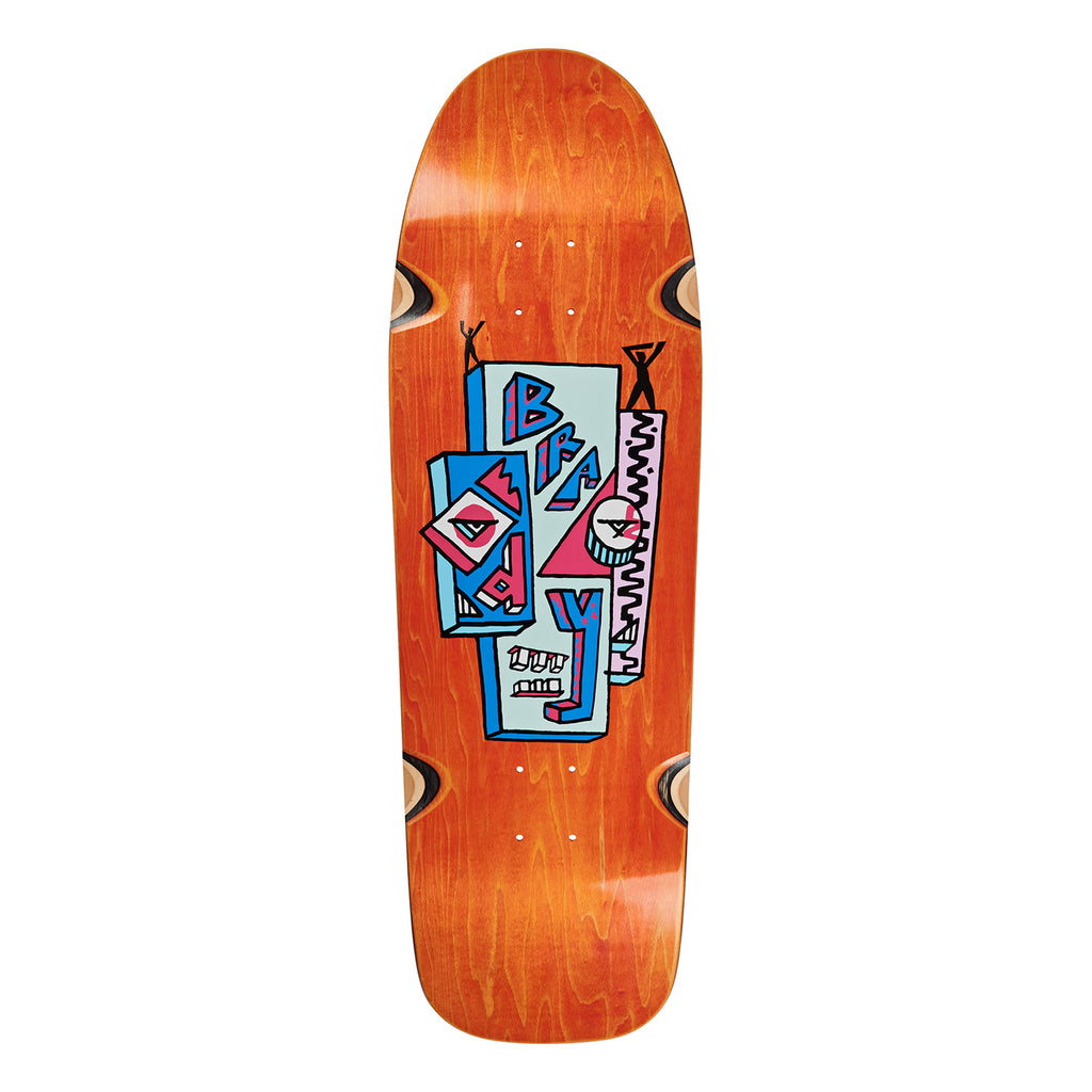 Polar Skate Co Dane Brady Skyscraper Dane 1 Skateboard Deck in 9.75""