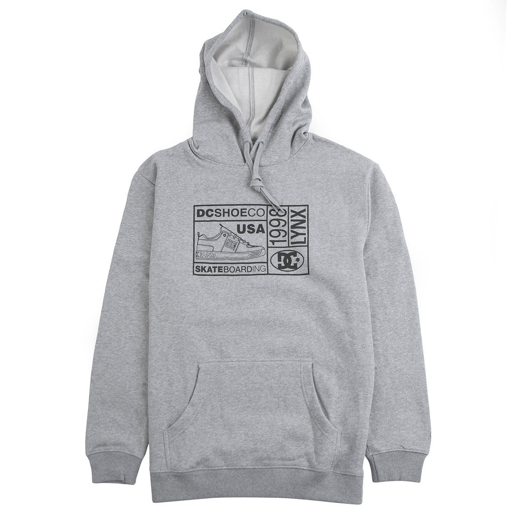 DC 98 Lynx Hoodie in Heather Grey