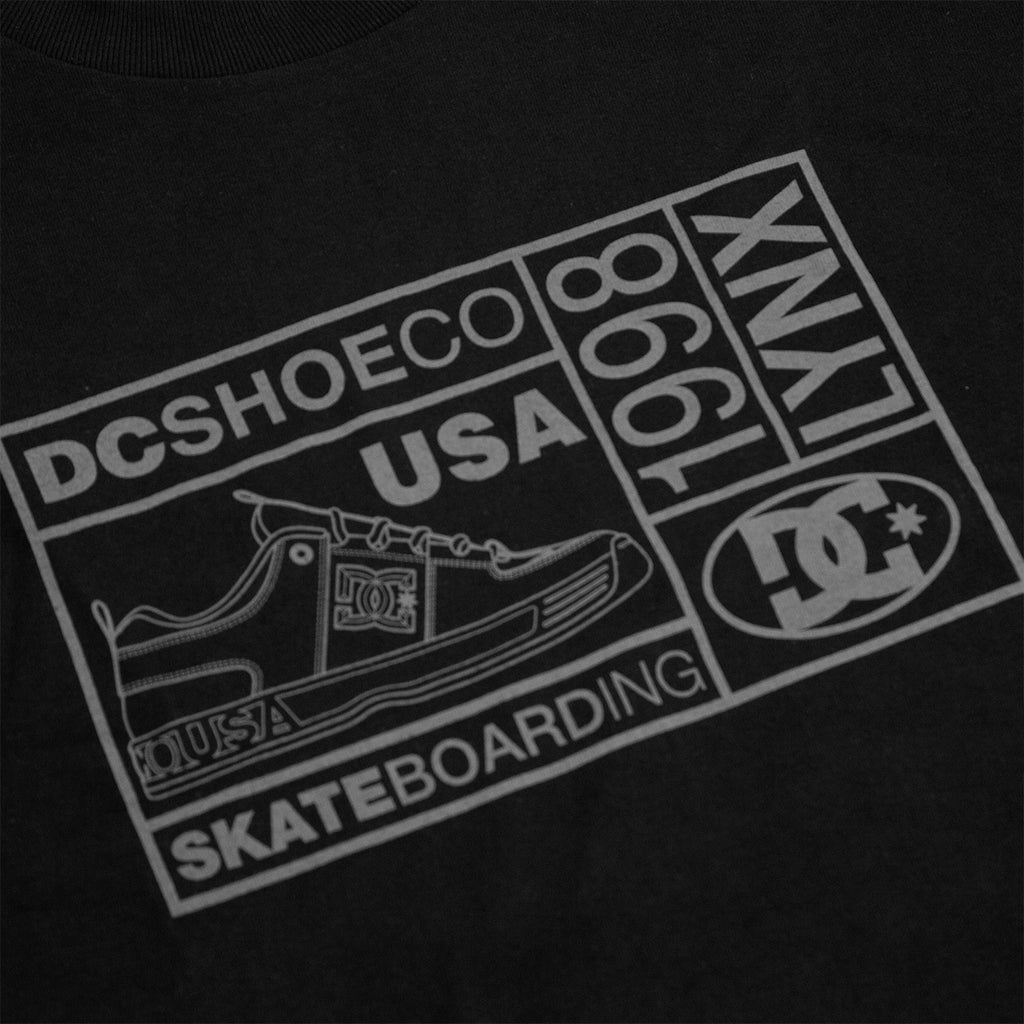 DC 98 Lynx T Shirt in Black - Print 2