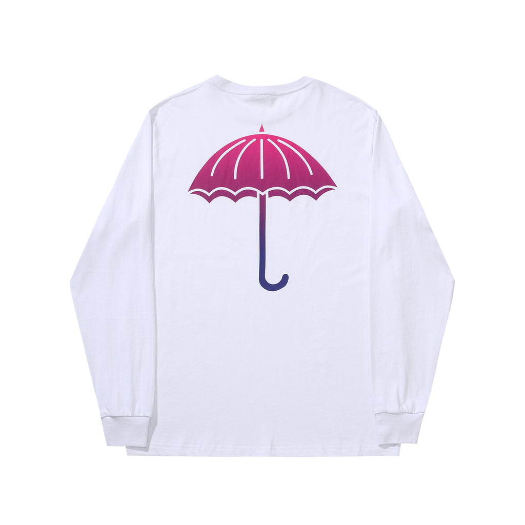 Helas L/S Degrade T Shirt in White