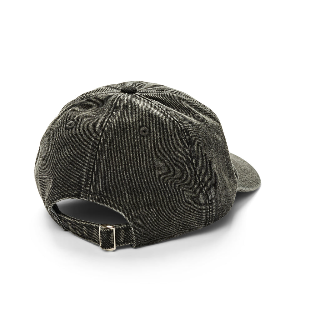 Polar Skate Co Denim Cap in Black - Back
