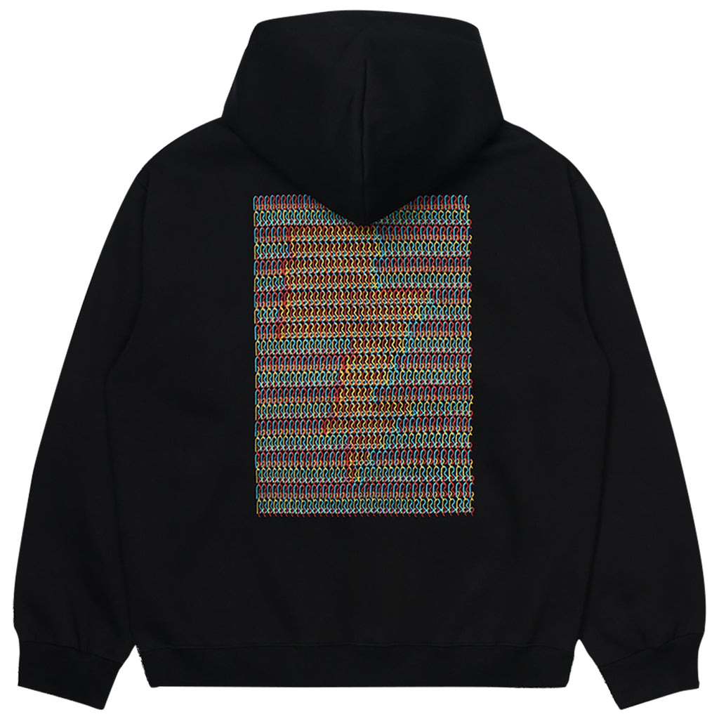 Carhartt WIP Relevant Parties Hooded DFA Sweat Black - Back