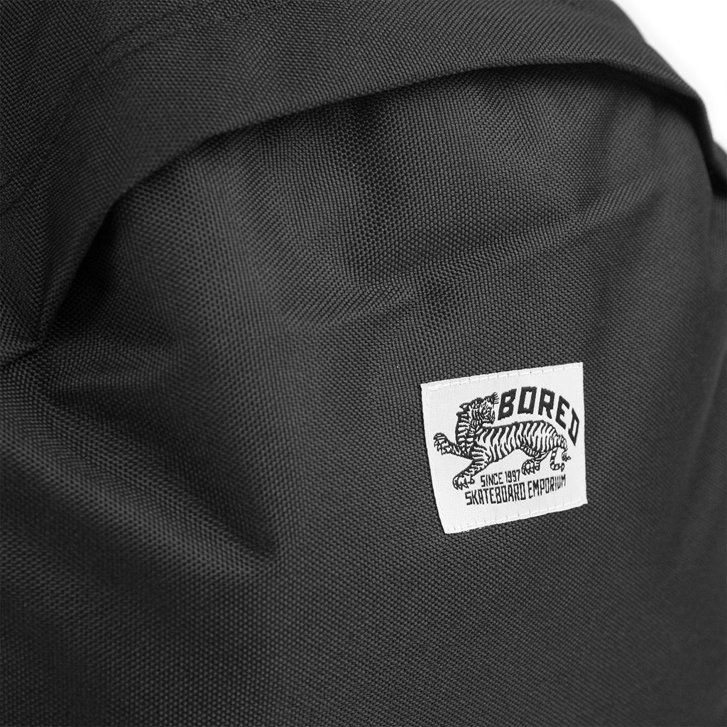 Bored of Southsea Daily Use Backpack in Black - Label
