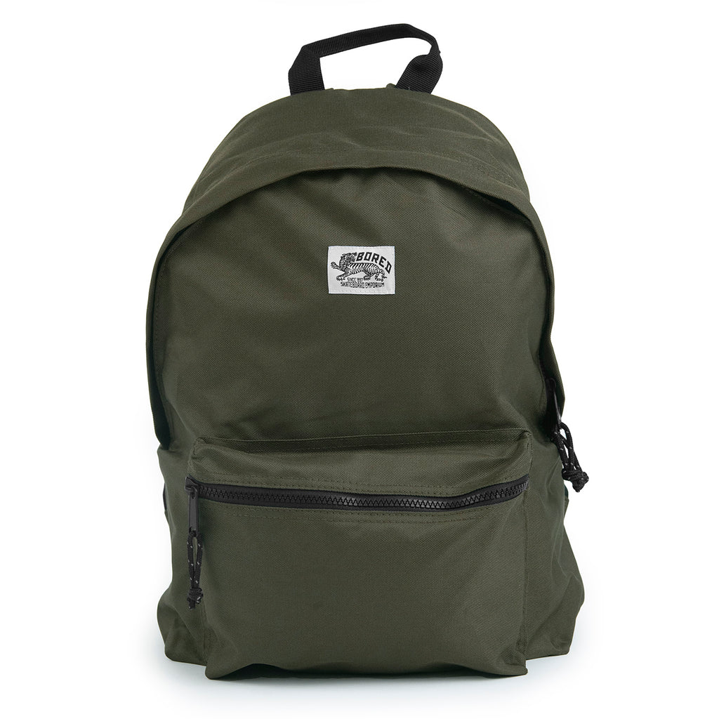 Bored of Southsea Daily Use Backpack in Military Green